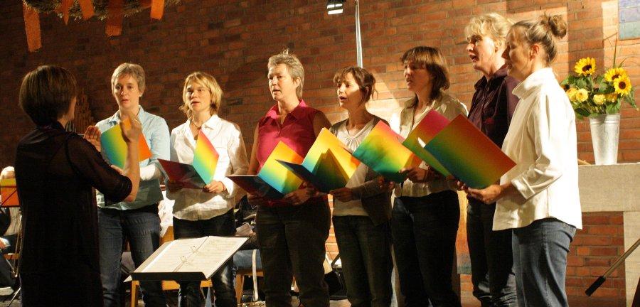 Chor Ohne Namen bei Konzert in Rath
