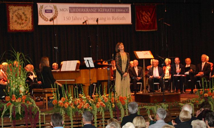 Die Chöre, Pianistin und Ulli