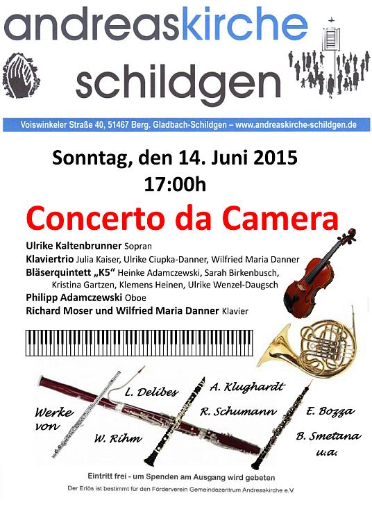 Plakat Konzert